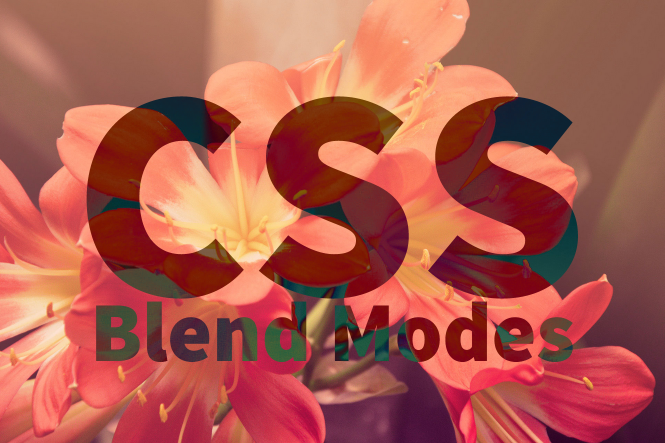 CSS Blend Modes Example